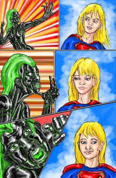 Supergirl page 5