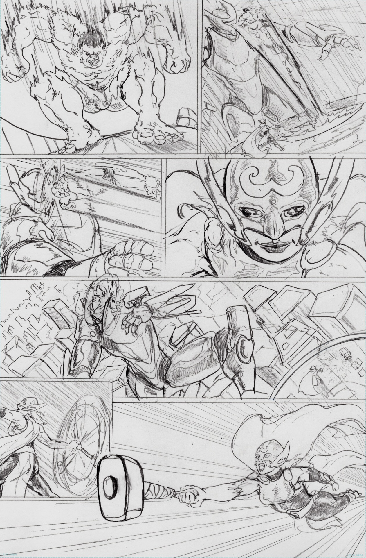 Thor and Hulk page 4