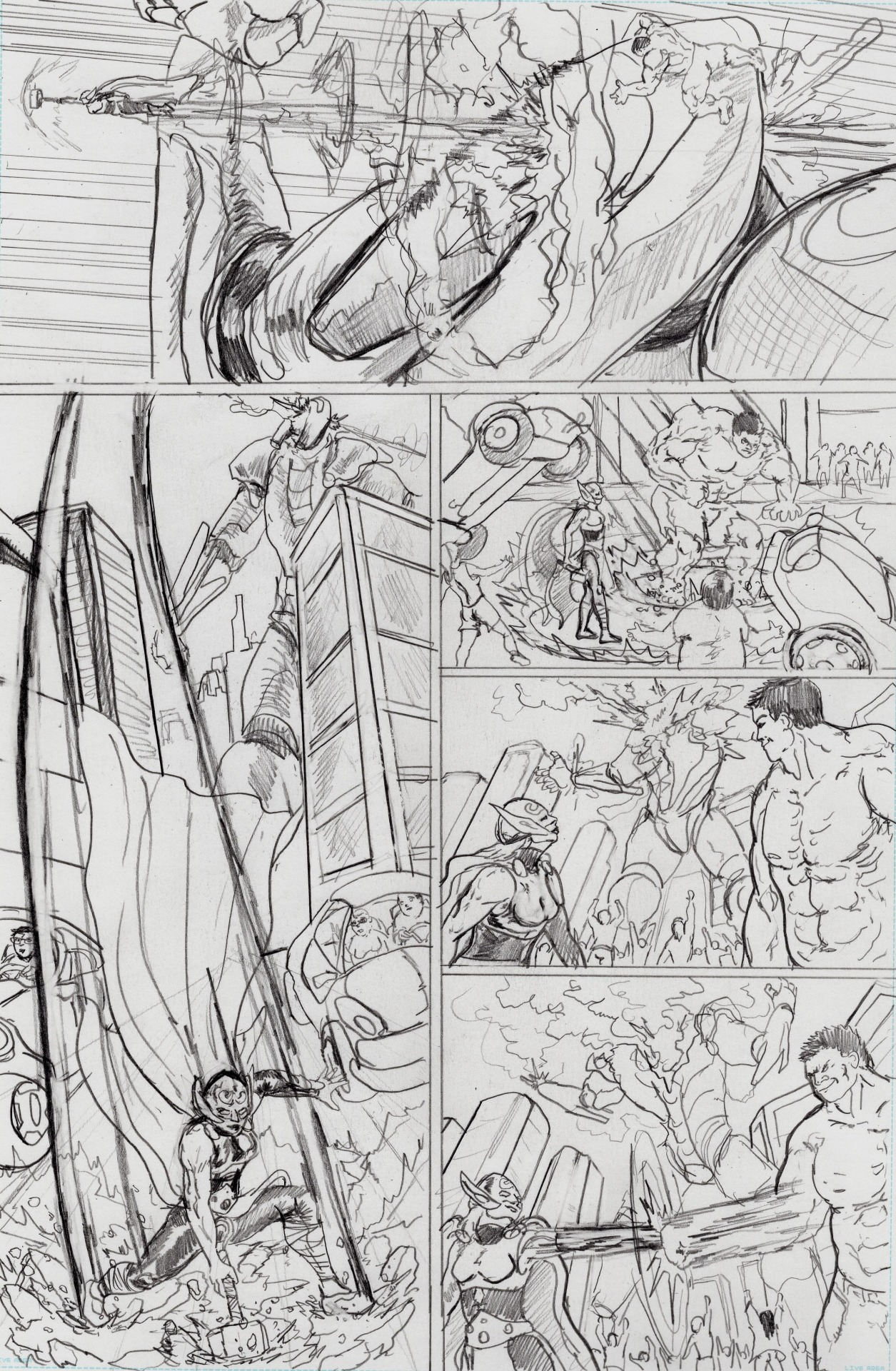 Thor and Hulk page 5