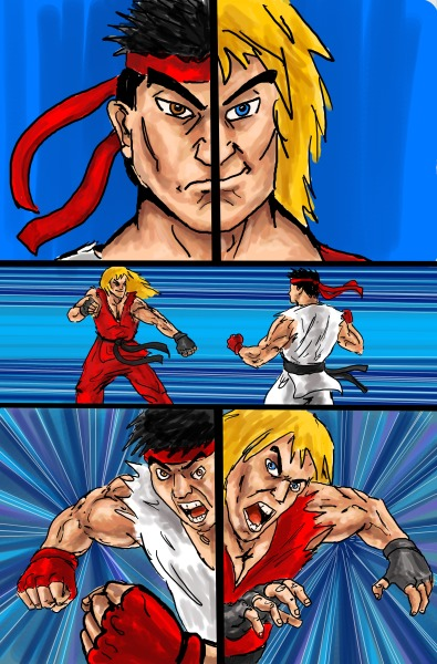 Street Fighter page 2
