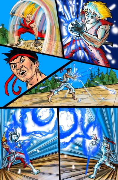 Street Fighter page 4