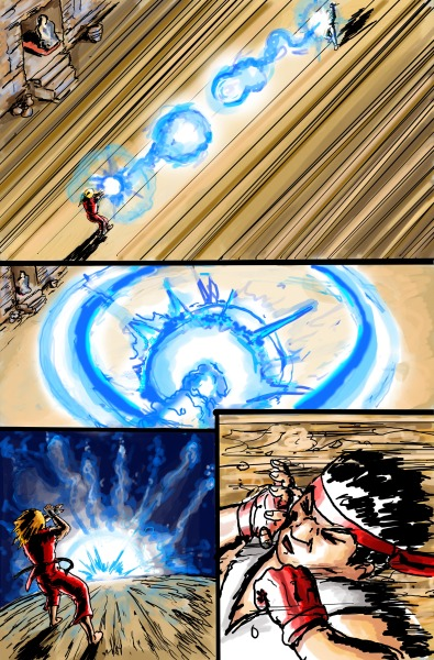 Street Fighter page 5