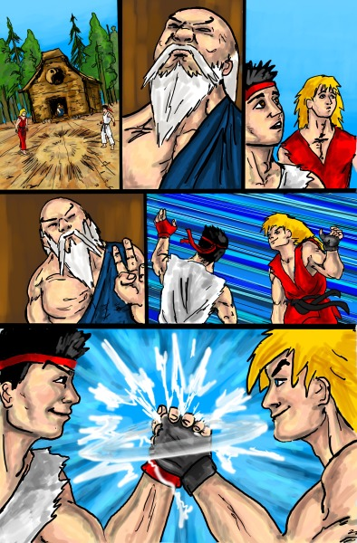 Street Fighter page 6