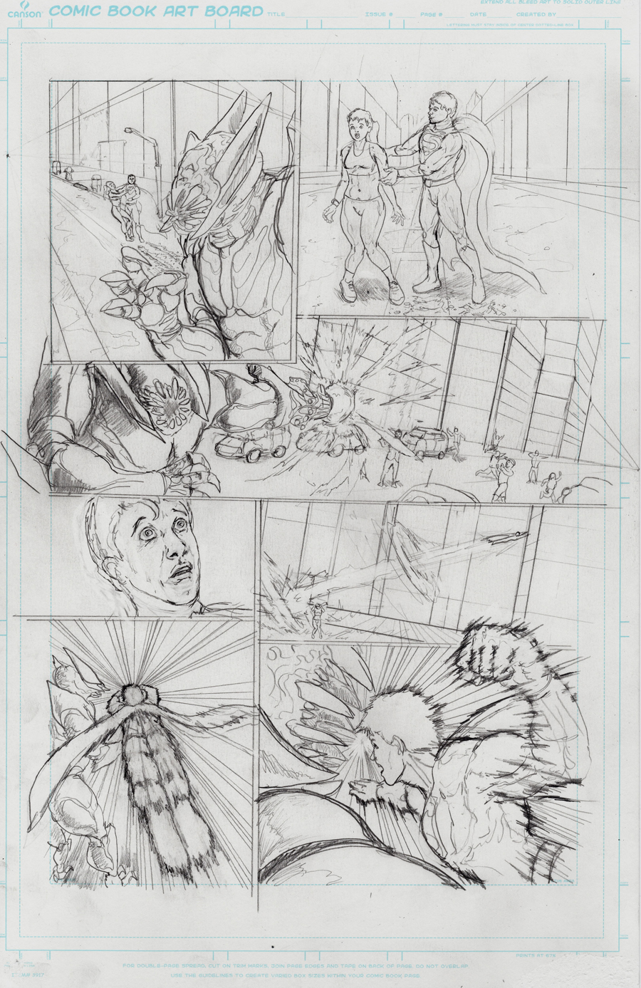 Superman page 4