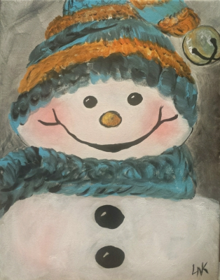 Snuggly Snowman
