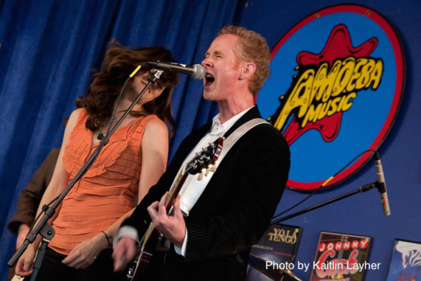 The Stripminers live at Amoeba Music, San Francisco