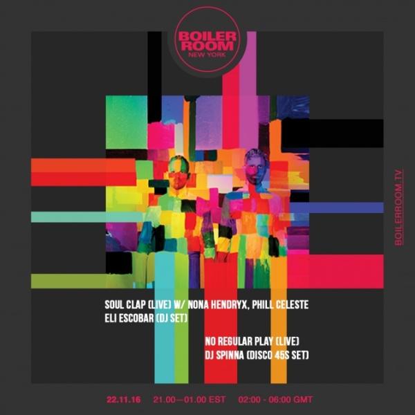 Boiler Room - Soul Clap (live)
