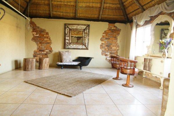 Honeymoon suite aantrek kamer