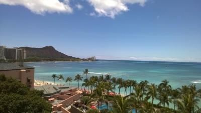 Waikiki From the Hyatt
