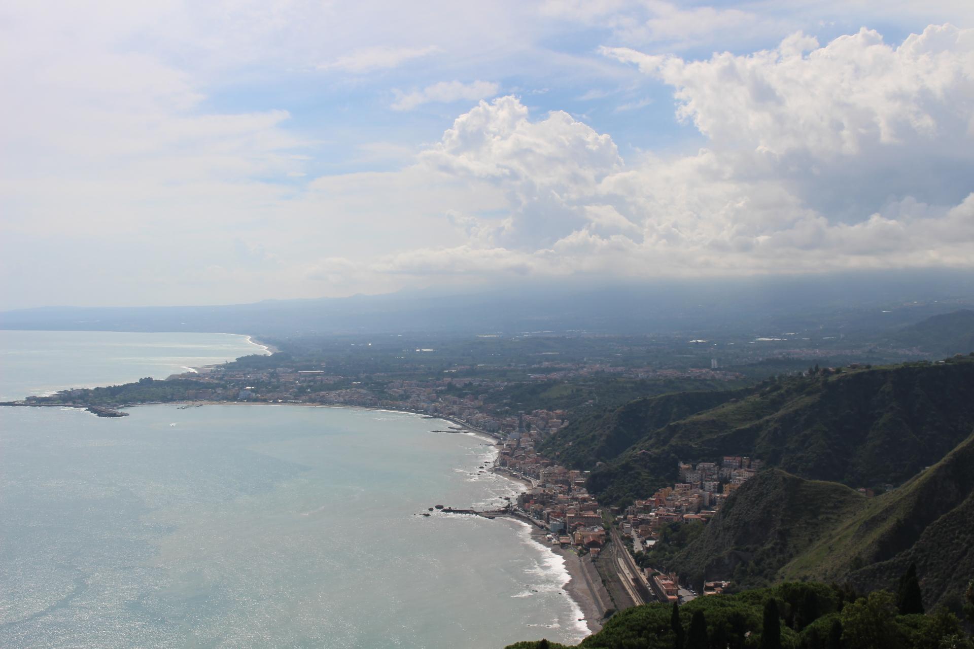 Taormina to Catania