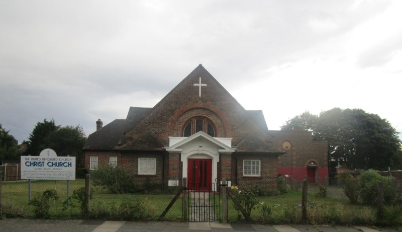 Bellingham, Christ Church United Reformed Church,Christ Church URC 15 bellingham green se6 3hq