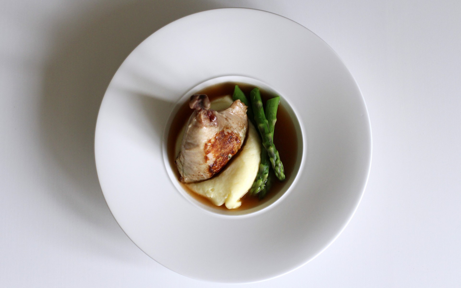 Chicken, Tarragon, Asparagus