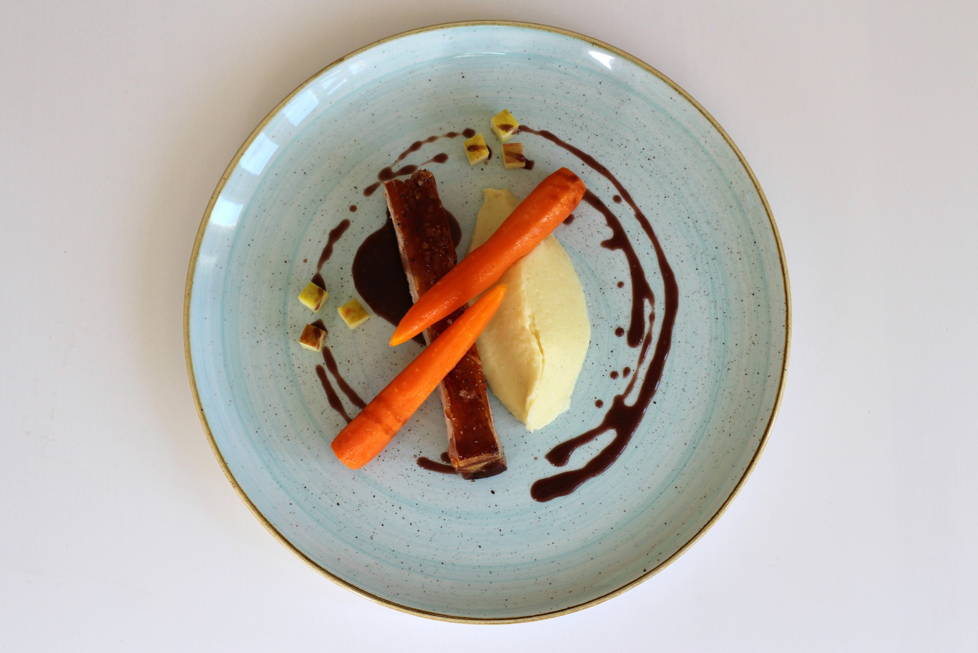 Pork, Carrot, Apple
