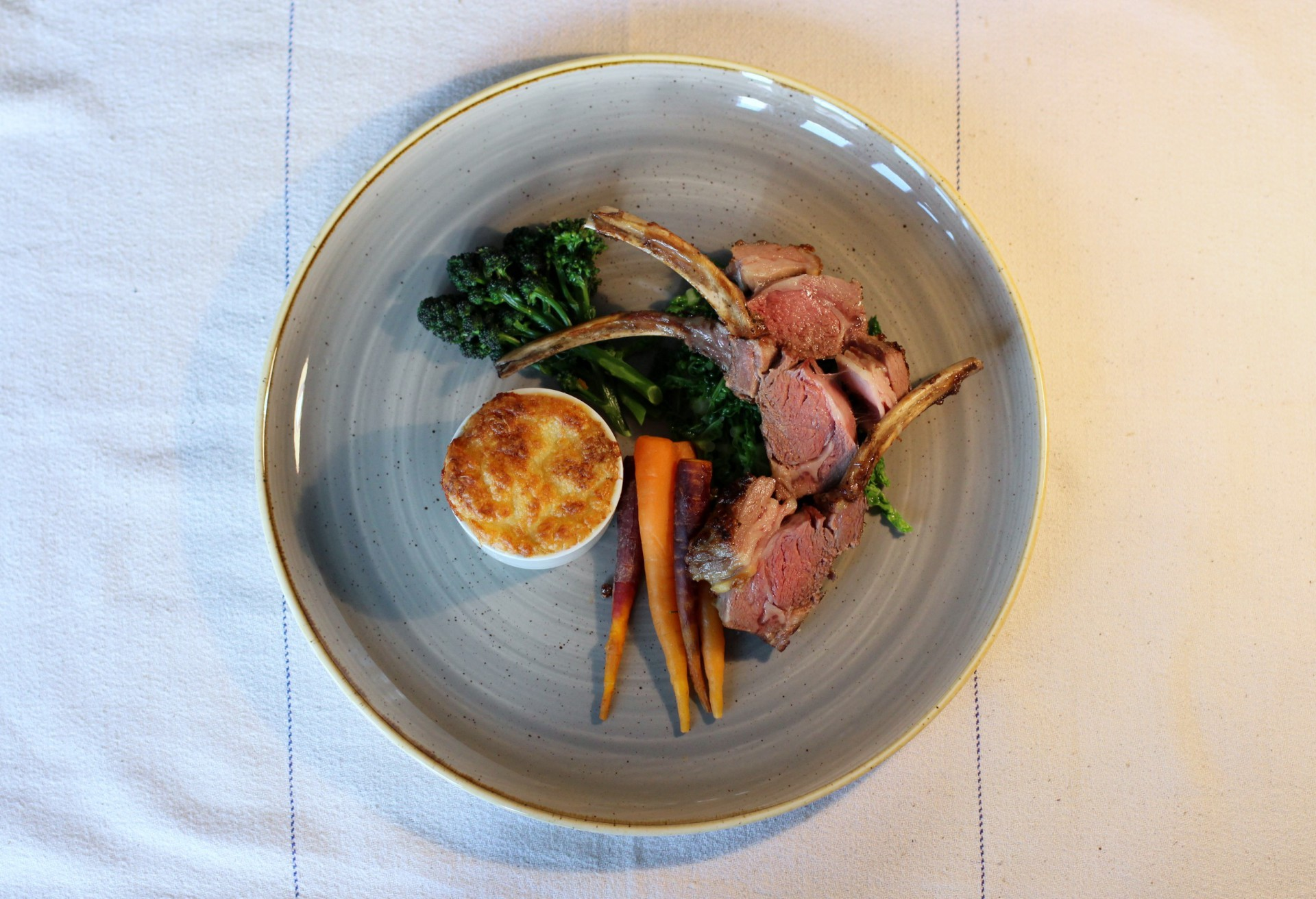 Lamb, Carrots, Winter Greens