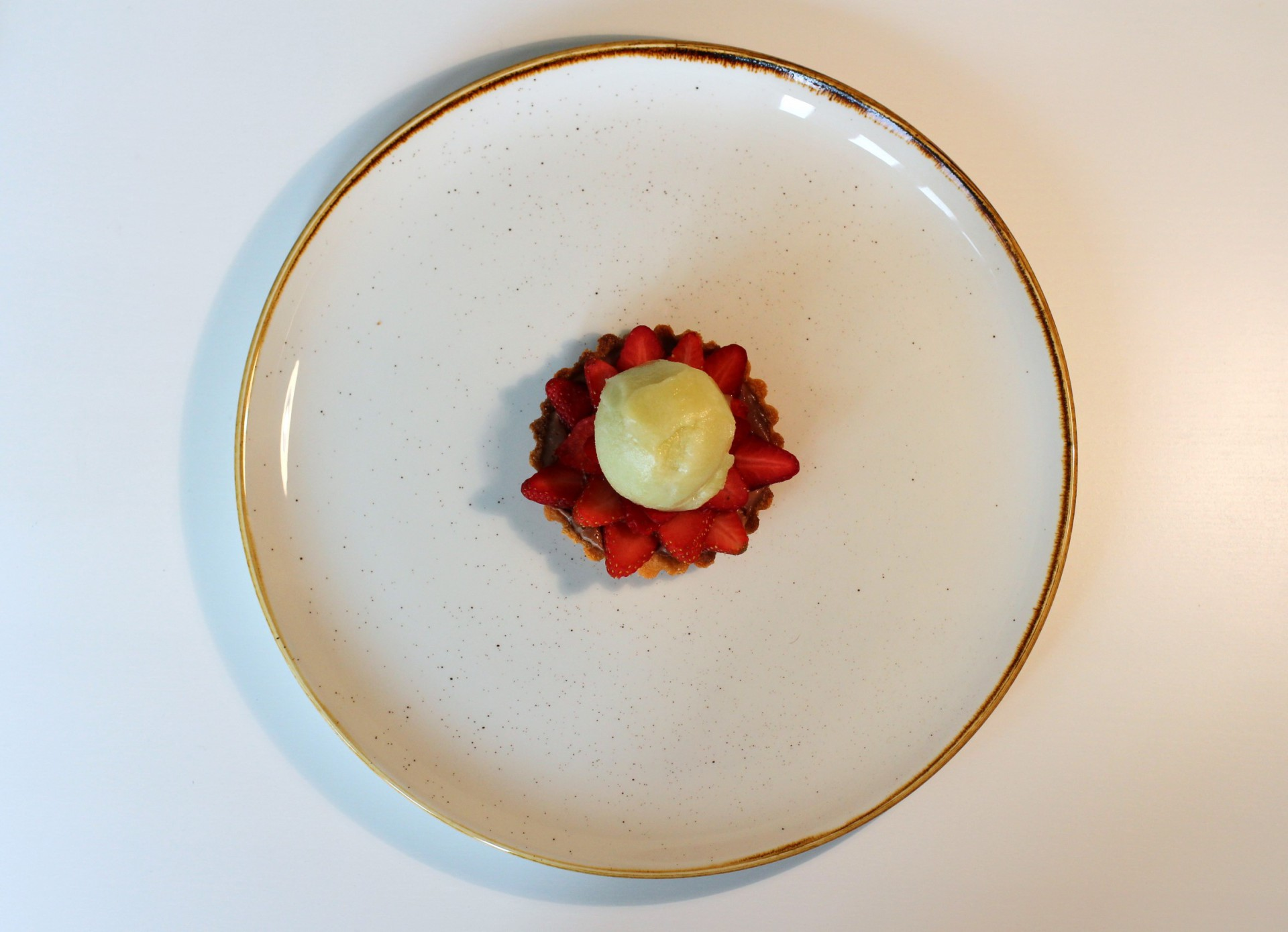 Strawberry, Chocolate, Basil