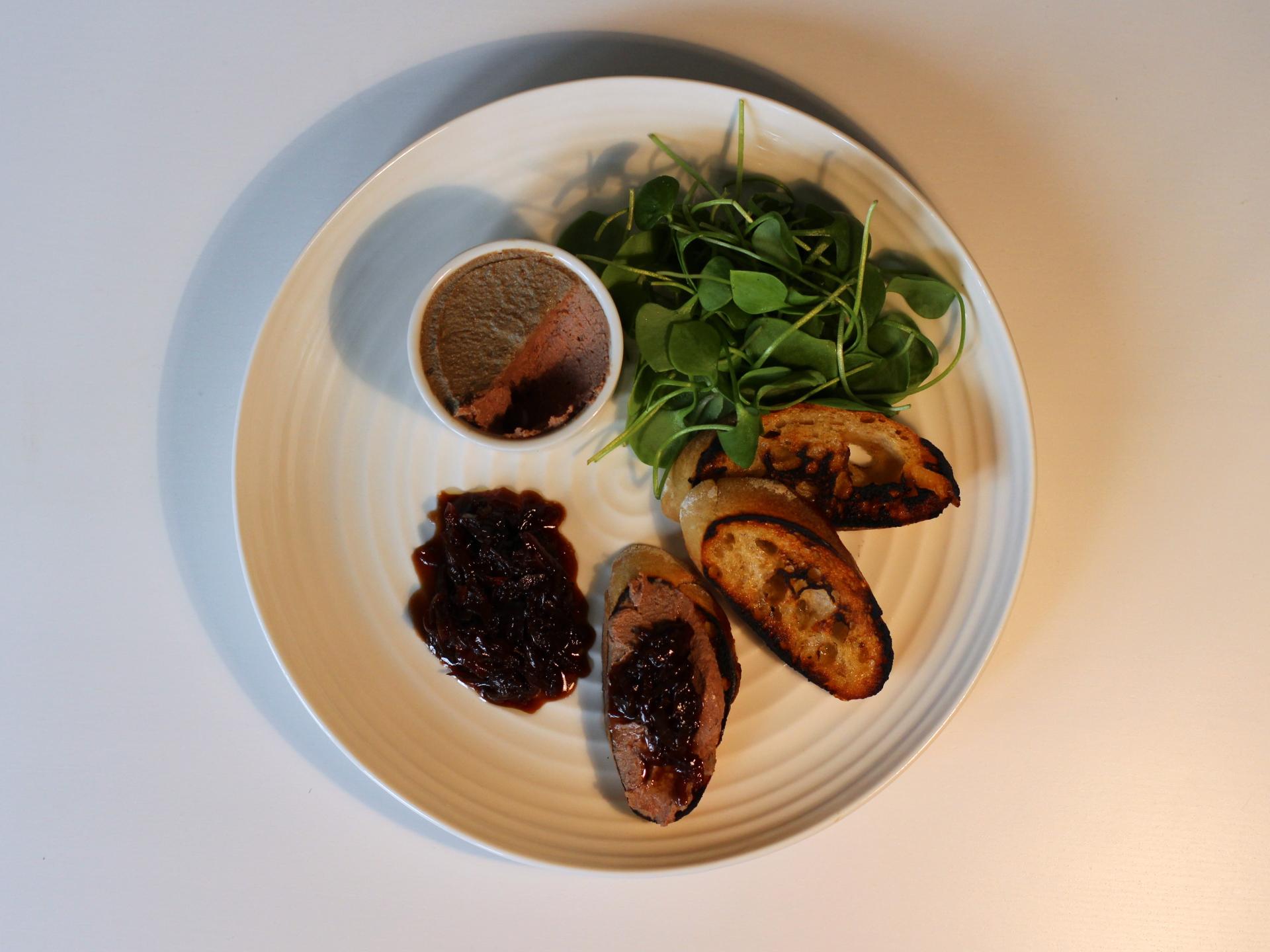Chicken, Red Onion, Purslane