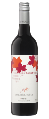 Secret Vale Shiraz     2010