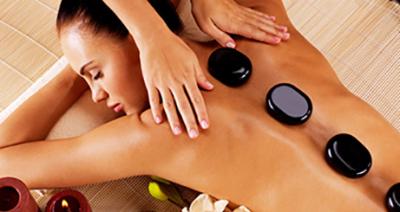 Luxury Hot Stone Massage £35 back (30 mins) £45 Full Body (60 mins)