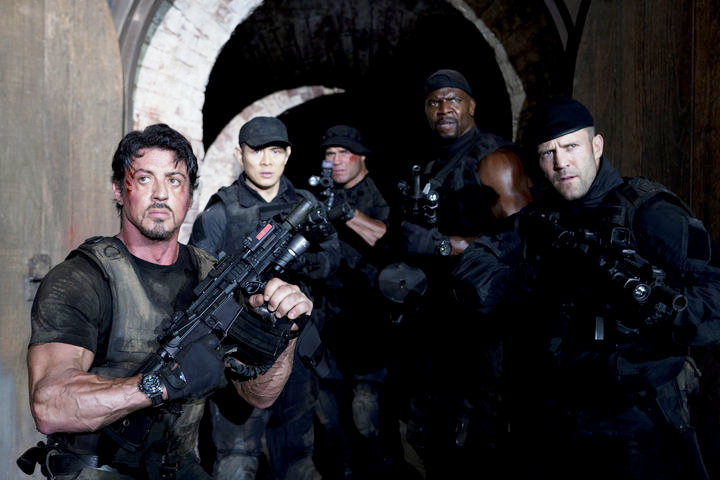 The Action Fix of the Week: The Climatic Firefight from The Expendables