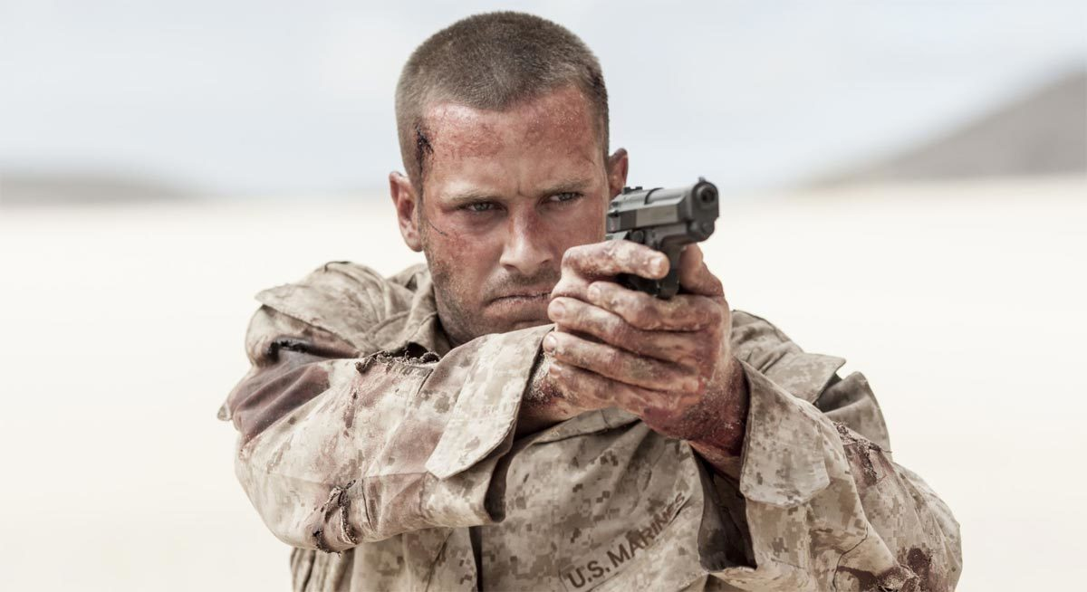 "Armie Hammer Fights to Survive in the Military Thriller ""MINE"""