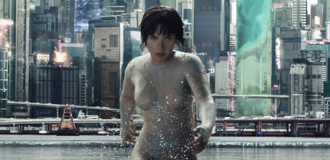 "A New Action Clip Debuts for ""Ghost In The Shell"""