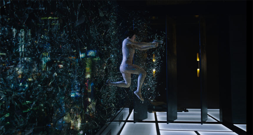 "Watch the First Five Awesome Minutes from ""Ghost In The Shell!"""