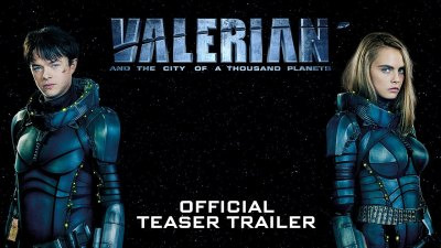 """The New Trailer for """"Valerian and the City of a Thousand Planets"""""""