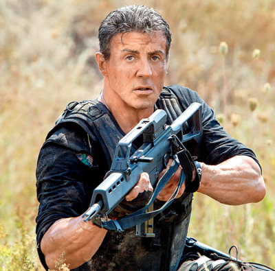 "It Seems Sylvester Stallone is ""Expendable"" After All"