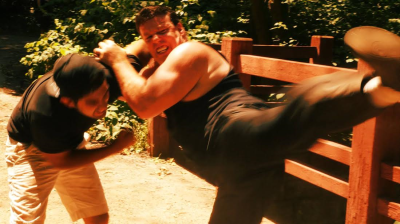 "New Martial Arts Sensation Paul Mormando Hits Hard in the Trailer for ""Bound By Debt"""