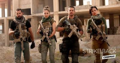 """Cinemax's """"Strike Back"""" Reloads with a New Team, New Enemies and the Same High-Octane Action!"""