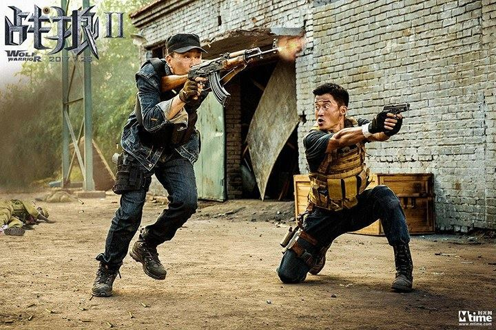 "Wu Jing Takes On Frank Grillo in the Action Sequel ""Wolf Warrior 2"""