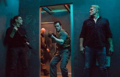 "JCVD and Dolph Lundgren Declare War in the First Trailer for ""Black Water"""