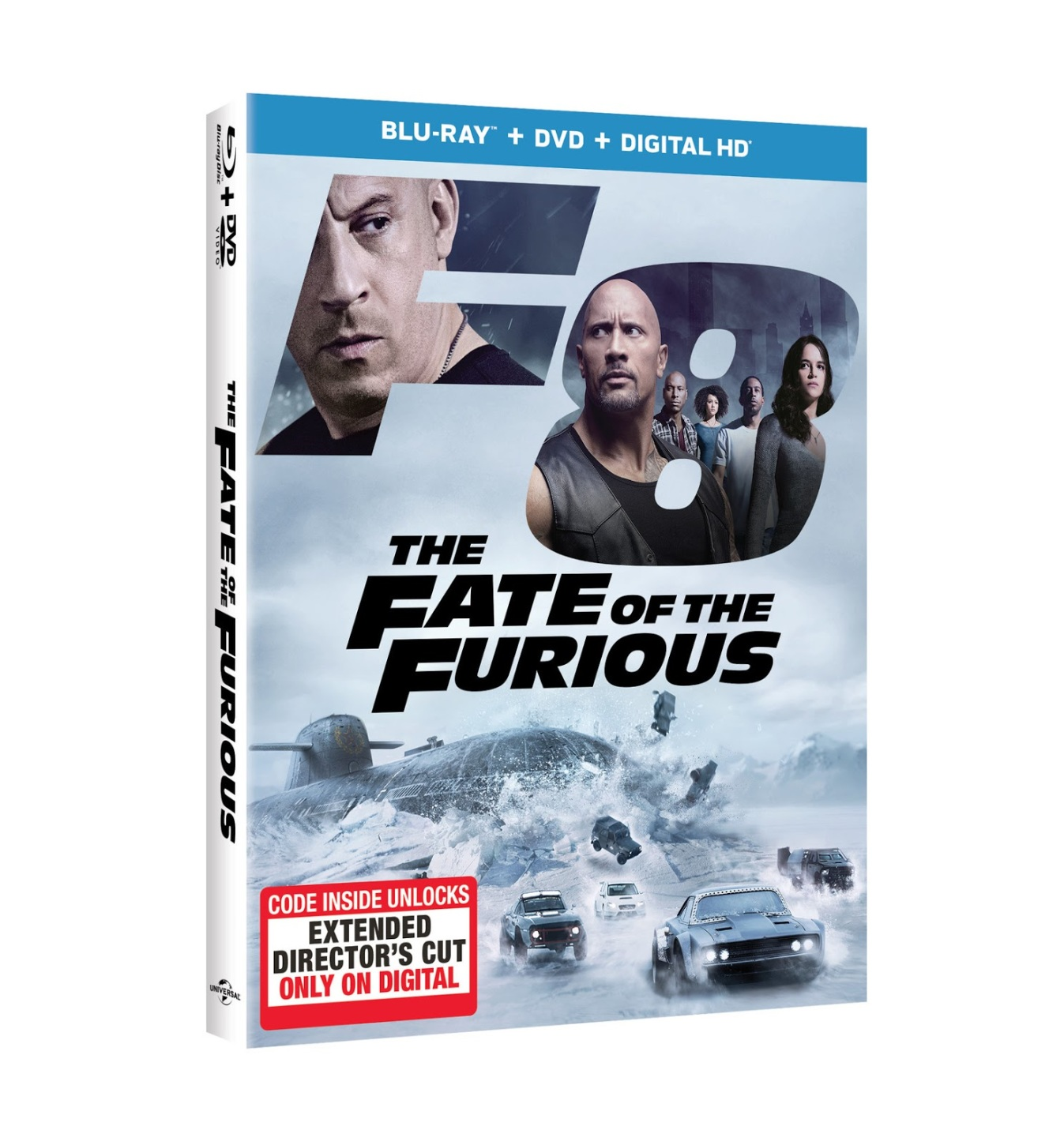 """The Extended Edition of """"The Fate of the Furious"""" Crashes into Your Blu-Ray Player this Summer!"""
