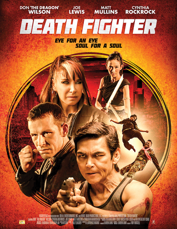 "The High-Octane Martal Arts Film ""Death Fighter"" Finally Hits DVD in July!"
