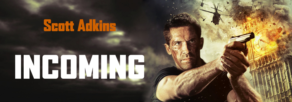 "Scott Adkins Takes Aim in a New Teaser Poster for the Sci-Fi Action Film ""Incoming"""