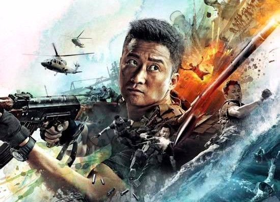 """Wu Jing is in Action in the New Poster and Trailer for """"Wolf Warrior 2"""""""