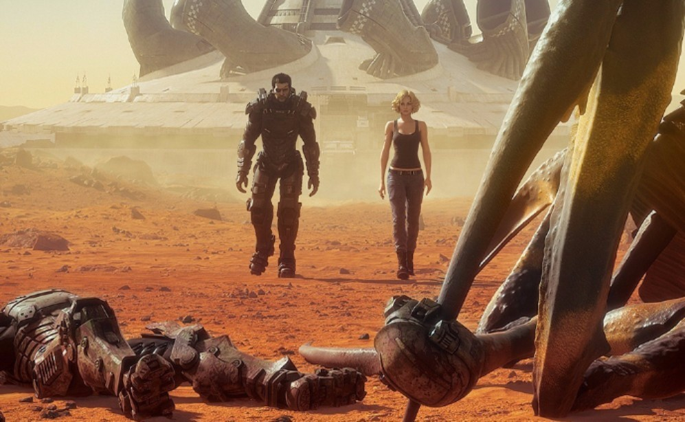 """Johnny Rico is Back in the New Animated Sequel """"Starship Troopers: Traitor of Mars"""""""