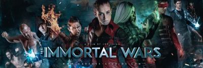 "May the Strongest Survive in the New Sci-Fi Action Film ""The Immortal Wars"""
