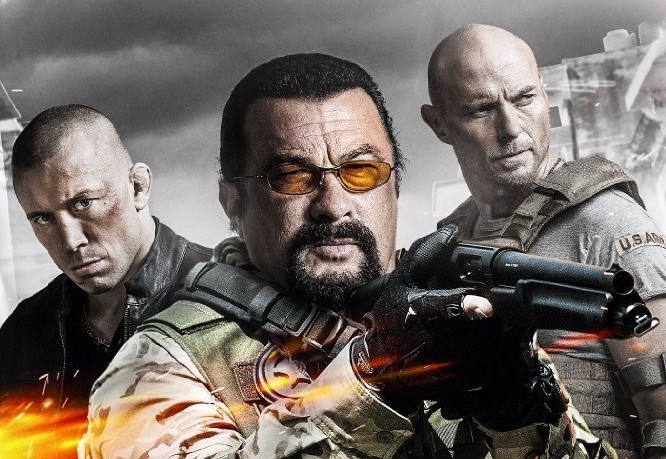 """Cartels"" Starring Steven Seagal & Luke Goss Lands on Blu-Ray in September"