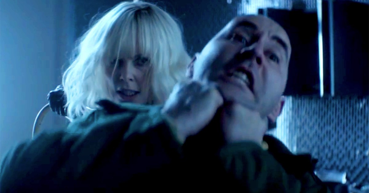 "A New Action-Packed Clip Debuts for ""Atomic Blonde"""