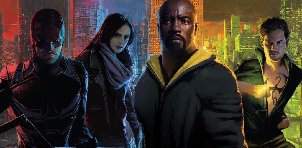 """Marvel's The Defenders"" have Assembled in New Images Ahead of its Release!"