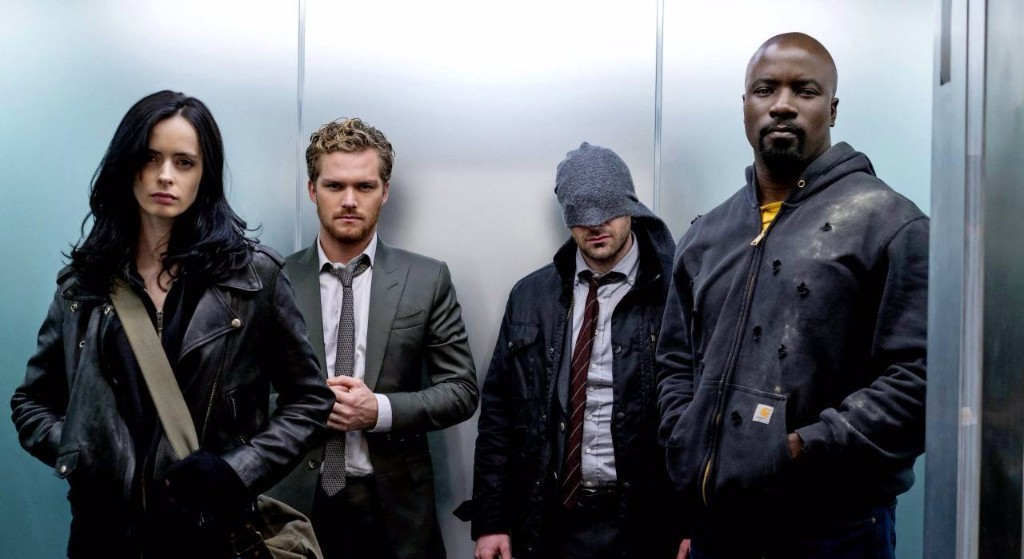 "SDCC 2017: It's a War on the Streets in the Comic Con Trailer for ""The Defenders"""