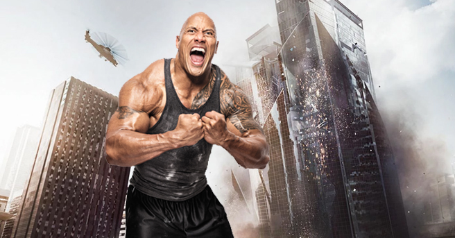 """The Rock's Next Action-Thriller """"Skyscraper"""" Begins to take Shape!"""