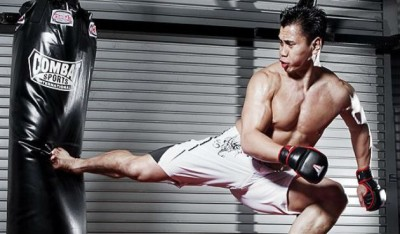 "Exclusive Interview: The ""Savage Dog"" Set Visit with Cung Le"