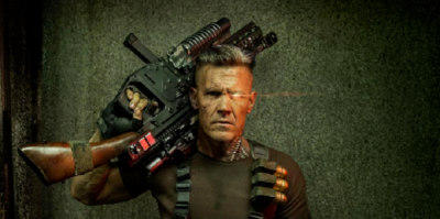 """Josh Brolin Strikes a Pose as Cable in the First Official Photos from """"Deadpool 2"""""""