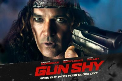 """Trailer: Rock Out with Your Glock Out with Antonio Banderas in """"Gun Shy"""""""