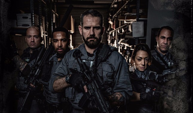 "Real Life Spec Ops Warrior Mikal Vega Stars in the Military Action Series ""Black"""