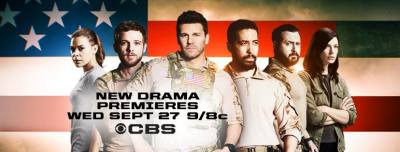 "Get in the Trenches with New TV Spots for CBS' Military Action Series ""SEAL Team"""
