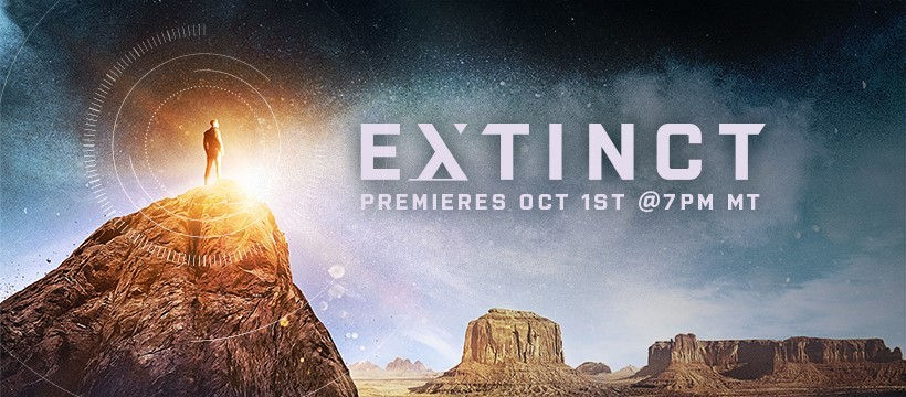 "Trailer: Humanity is Up Against the Wall in the New Sci-Fi Series ""Extinct"""