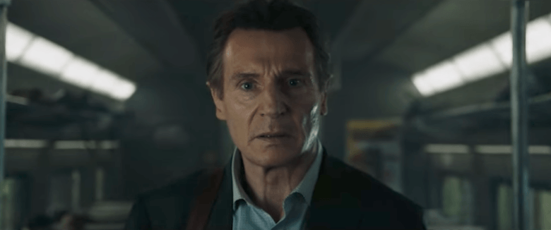 "Trailer: Liam Neeson's Commute to Work Turns into a Race for Survival in ""The Commuter"""